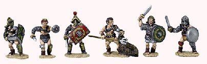 Gladiators from Steve Barber models