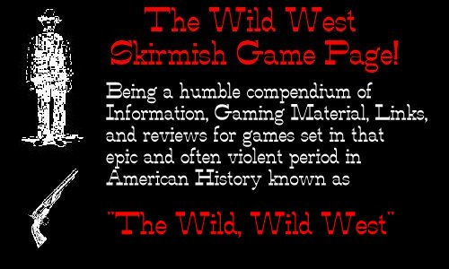Title Logo for Wild West Page